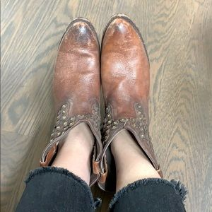 Frye Shoes - Frye Studded Booties